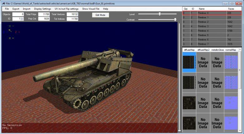 9 9] WoT Model Editor v26 | World of Tanks 1 6 0