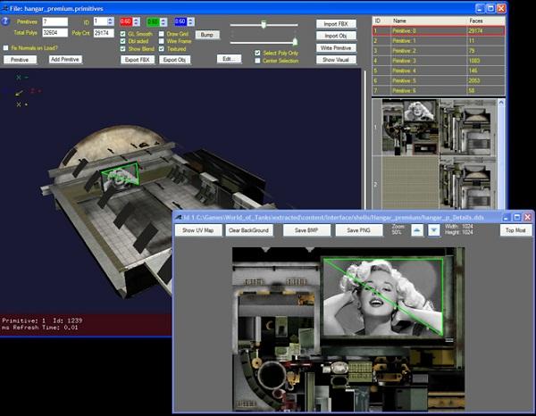 9 9] WoT Model Editor v26   World of Tanks 1 6 0