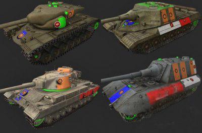 world of tanks hitbox mod