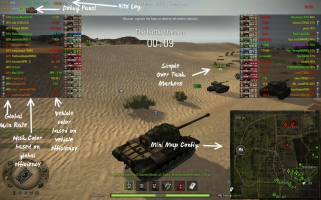 download xvm mod world of tanks