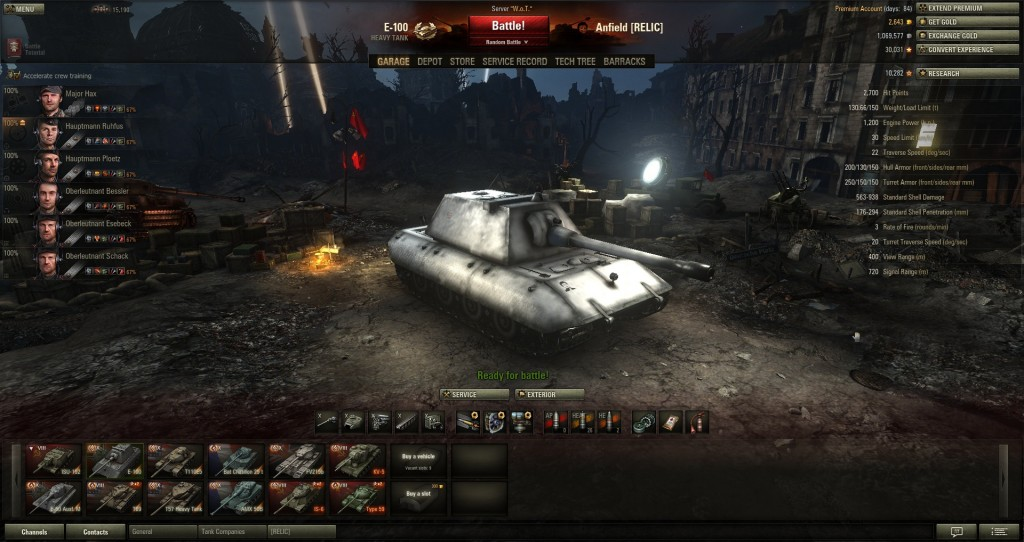 Anfield's Mod Pack v1 1 [9 15] | World of Tanks 1 6 0 2