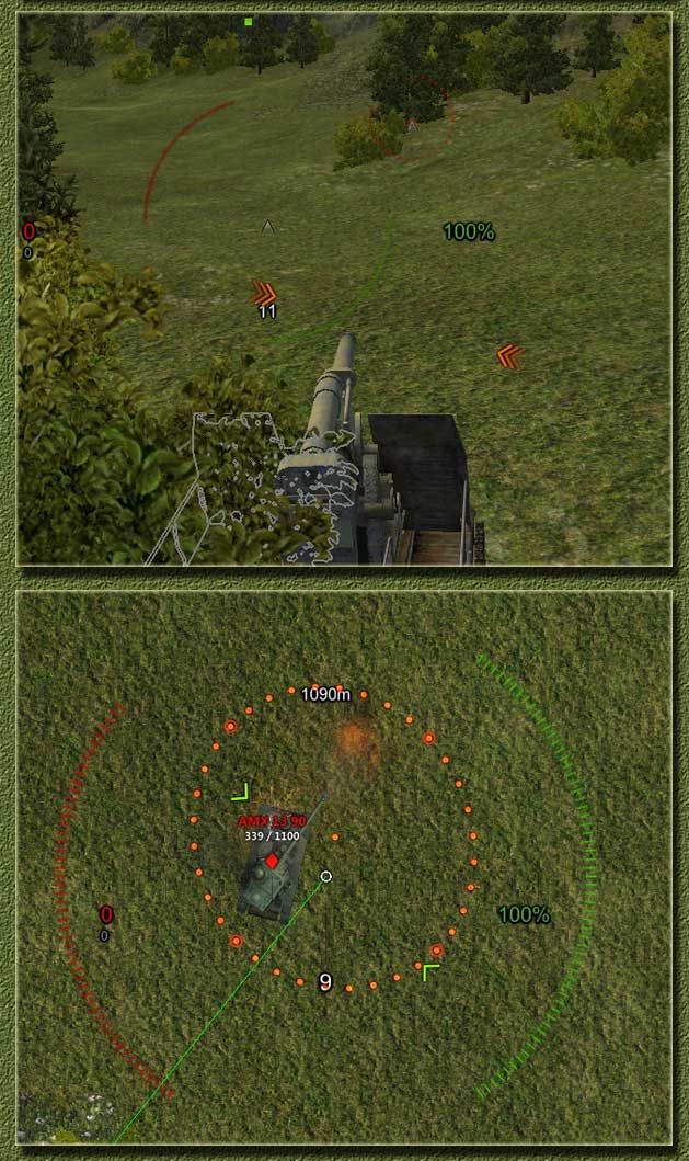 world of tanks artillery angle mod