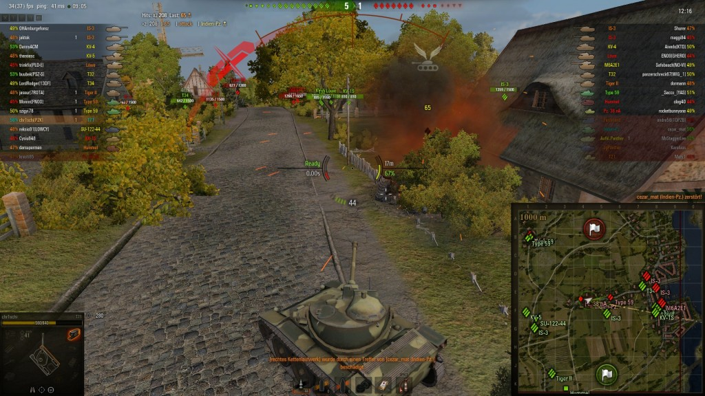 0 9 1] chr1schi´s modpackage v 0 9 | World of Tanks 1 6 0 2
