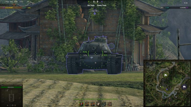 world of tanks server reticle mod