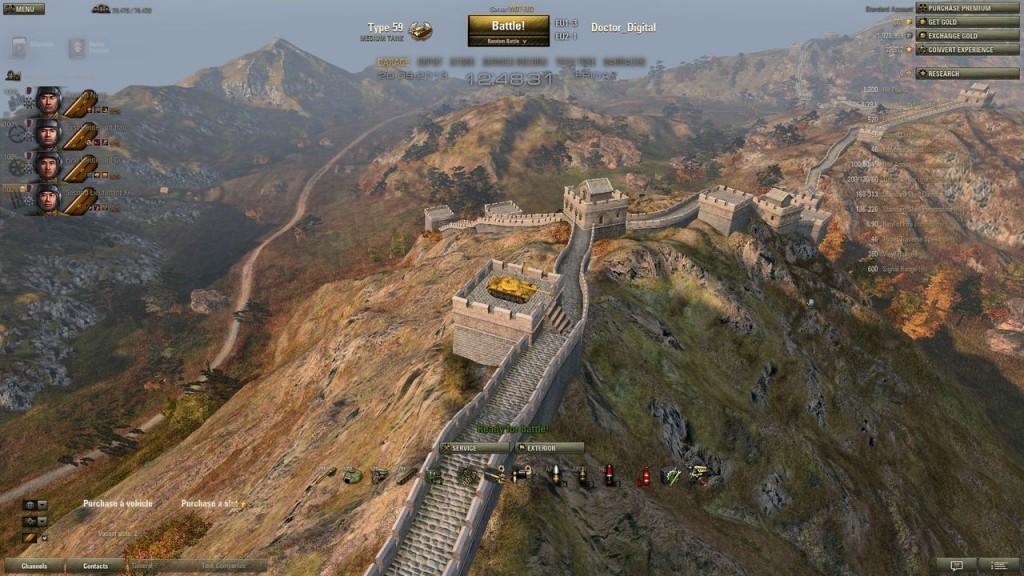 8 9] Asia Great Wall Hangar | World of Tanks 1 6 0 2