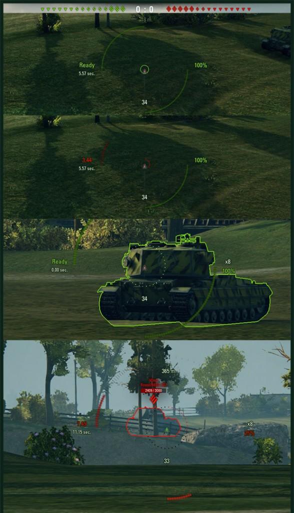 world of tanks artillery sniper mod