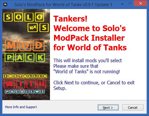 1 6 0 2] Solo's Easy ModPack v 5 | World of Tanks 1 6 0 2