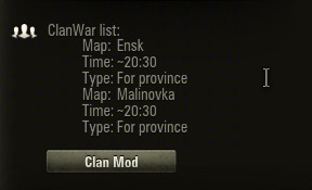 clanMod 1