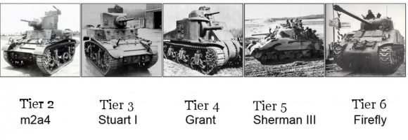new british medium tanks