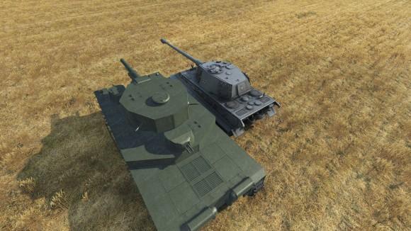 O-I 120 и Tiger II]