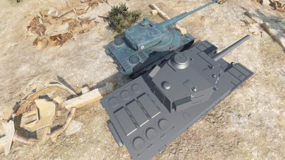 Type 4 и AMX 50 120]
