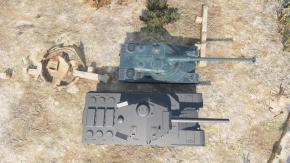 Type 4 и AMX 50 120]1