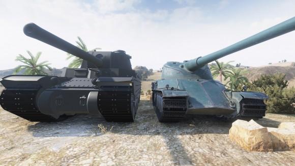 Type 4 и AMX 50 120]3