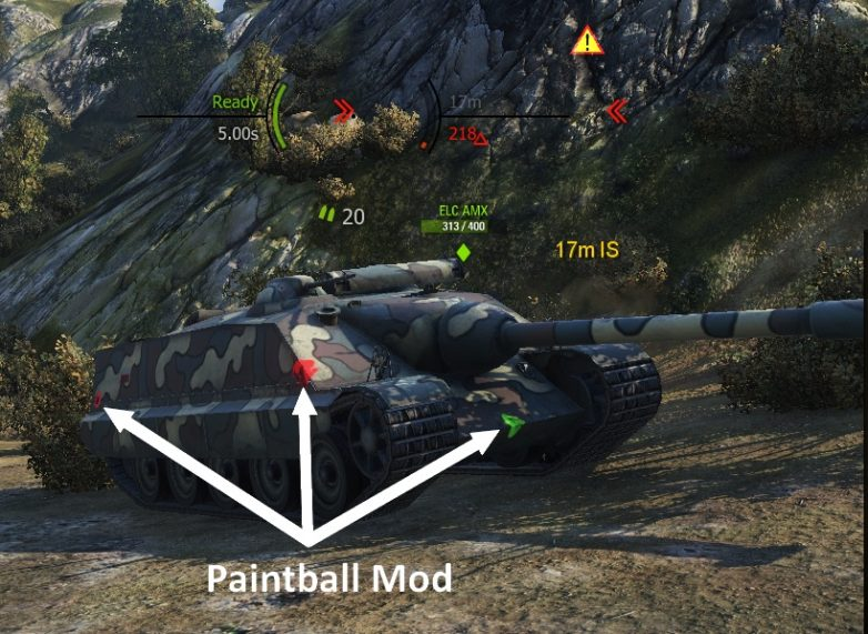 world of tanks proarty mod