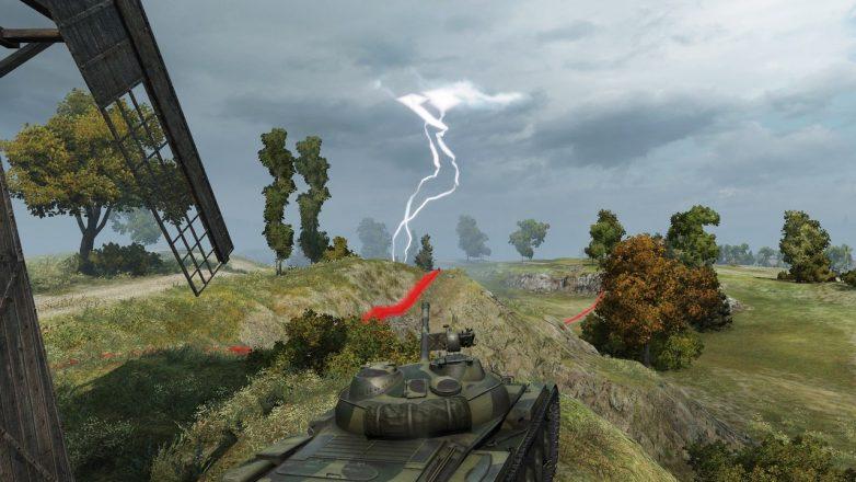 world of tanks weather mod