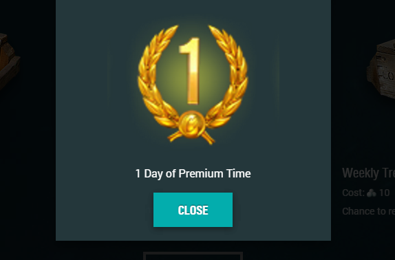1 day free Premium account (for WoT / WoWS / WoWP) | World of Tanks