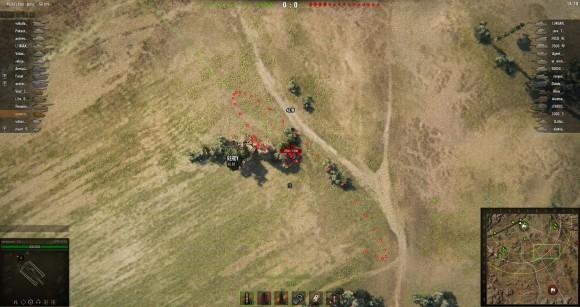 harpoon crosshair mod in world of tanks 1.0