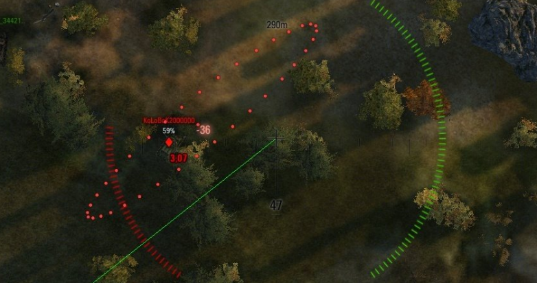 artillery assistant mod wot