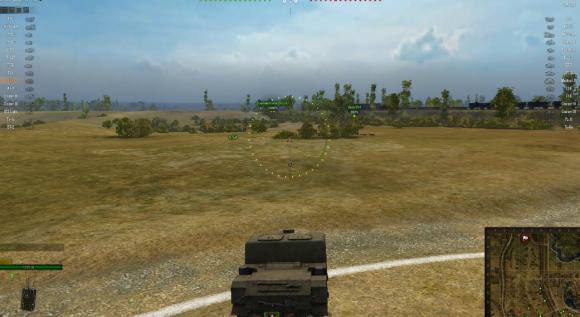 wot mini map mod