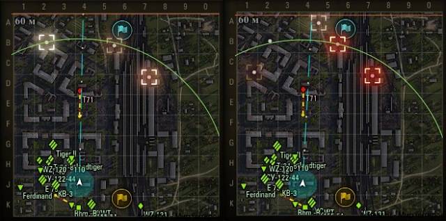 Destructions on Minimap