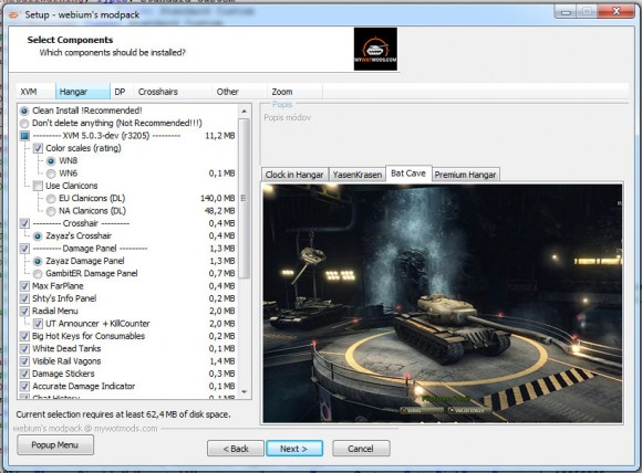 1 6 0] webium's modpack v01   World of Tanks 1 6 0 2